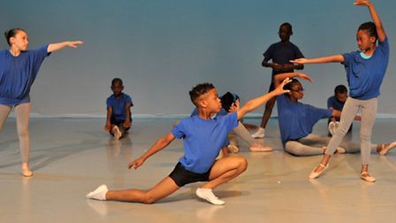 Ballet students from Barking and Dagenham perform at their graduation