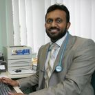 Dr Mohi in his Surgery at the Abbey Medical Centre in Barking