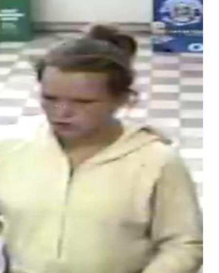 Police want to speak to this woman in connection with a theft at a Post Office on June 12