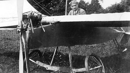 Hadley Page prototype, Type A, c1909