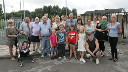 Residents got together to campaign for the club to be re-opened under the management of the communit