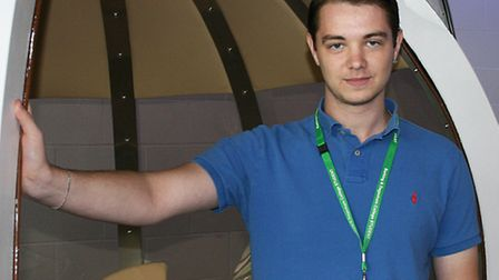 Steven Upton set up his own gaming and technology business called Shy Zone Ltd