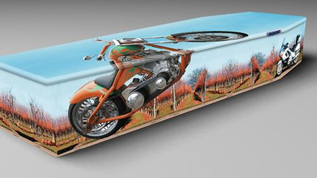 Easy Rider, from company Colourful Coffins