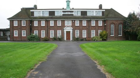 The Sacred Heart Convent in Goresbrook Road
