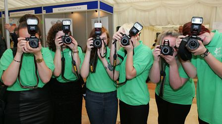 Photography students fom Havering College.