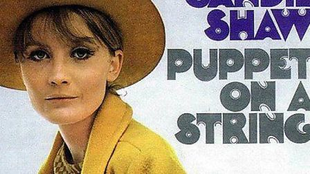 Sandy Shaw was best known for her hit Puppet on a String