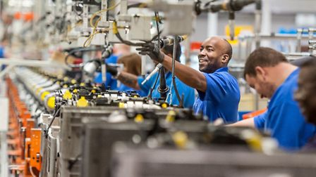 Workers at Ford's Dagenham centre, which employs 4,000 people