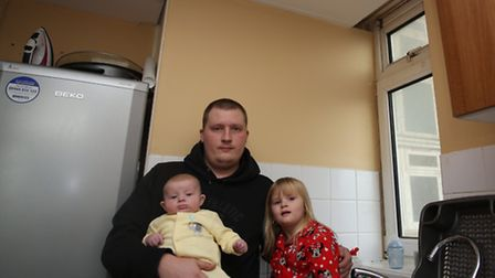 Ben Clarkson's flat is suffering from water leaking from the flat above him. He has a leaking ceilin