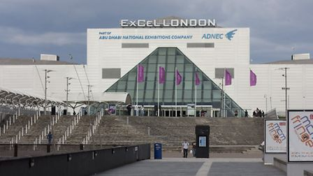 The ExCel Centre.