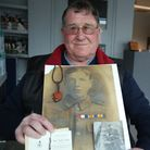 Ernie Tribe's Uncle John Arthur Tribe died in World War 1 at the age of 20. He has a collection of i