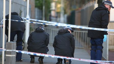 Police began a search after the incident in Ford Road, Dagenham.