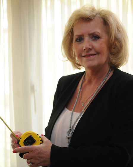Jean French, 55, has launched an app that allows people to choose curtains with the click of a butto