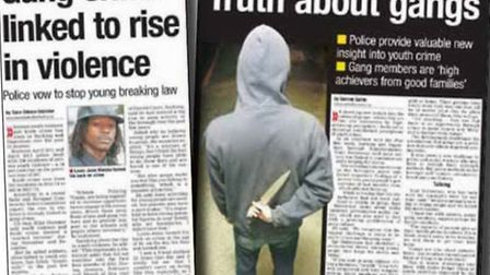 Post reports about gang-related crime in the borough