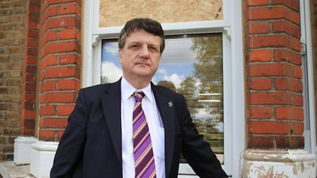 UKIP MEP Gerard Batten's window was smashed in the early hours of Tuesday morning