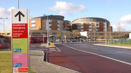 Queen's Hospital, which along with King George Hospital missed A&E targets by 10 per cent