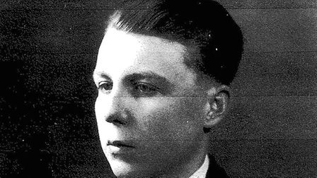 William 'Bill' Wycherley as a young man. No photos have been found of his murdered wife Patricia (pi