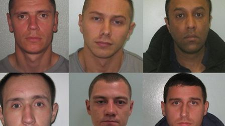 These six men have been jailed for the manslaughter of Barking businessman Shammi Atwal and conspira