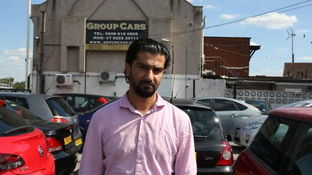 Murad Haider, director of GroupCars, launched a petition to try and save the mosque on Rainham Road