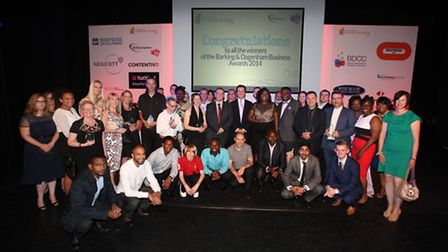 All the award winners, runners-up and highly commened local companies from the Barking and Dagenham