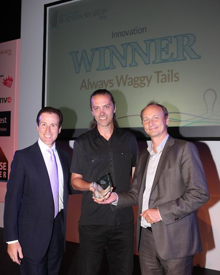 Always Waggy Tails won the Innovation prize and were named runners-up in the Customer Service caterg