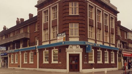 Barclays bank, on Faircross Parade, Barking will close in October.