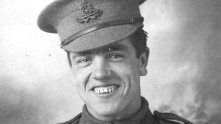 Job Drain's Victoria Cross will be commemorated with a new stone