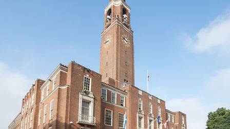 Cabinet members will meet at Barking Town Hall this evening (photo: Arnaud Stephenson)