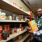 Barking's Food Bank manager Obi Onyeabor says 300 families do not have facilities to cook food at ho
