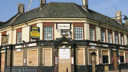 The old Bull pub in Barking