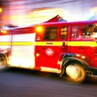 Five people managed to escape the fire