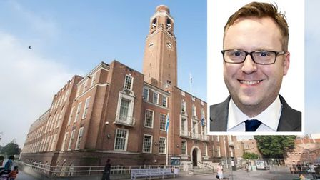 Chris Naylor, inset, is the new full-time chief exec at Barking and Dagenham Council