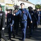 The procession for last year's service at Dagenham Village Church