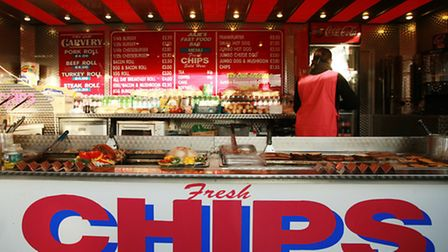 Cheap as chips: That cheeseburger might not keep until the 25th, though
