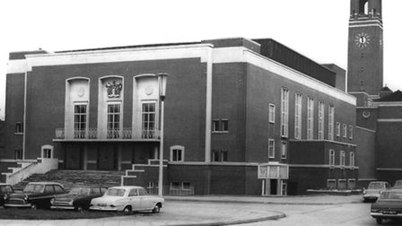 The assembly hall during the 1950s Picture: LBBD Archives/Valence House Museum
