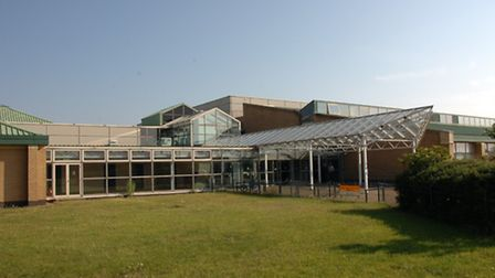 The former Goresbrook Leisure Centre, which opened as a school last September.