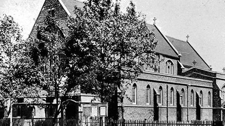 St Paul's Church in Barking before it was bombed (Pic: LBBD archives and local studies centre)