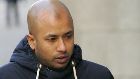 Ashraf Ali leaving the Old Bailey today. Picture: Steve Poston