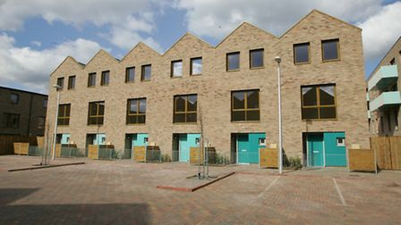 Some of the completed housing at Barking Riverside.