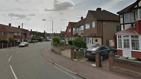 The attack took place in Marston Avenue (Pic: Google)