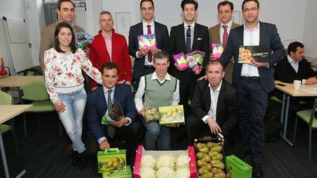 A Spanish export/import company held a trade mission featuring UK merchants and Spanish fresh produc