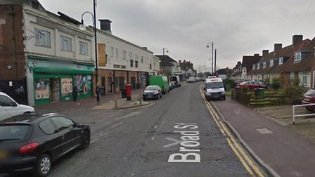 The assault took place on Broad Street (picture: Google Maps)