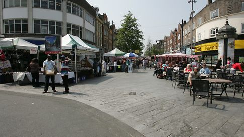 Money from the Mayors High Street Fund will be spent on Barking market.