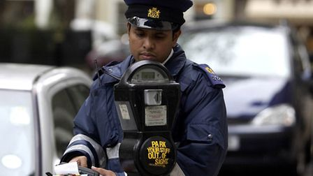 """Traffic wardens could allow a ten-minute """"grace zone"""". (Pic: PA)"""