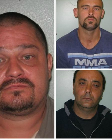 Scott Hunt (left) and Alan Quinn (top right) were both found guilty of conspiracy to pervert the cou