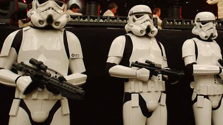 Stormtroopers (Pic PA: Andy Butterton)