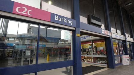 A man was stabbed at Barking station yesterday