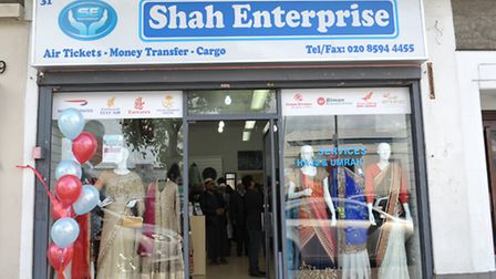 The shop in Barking
