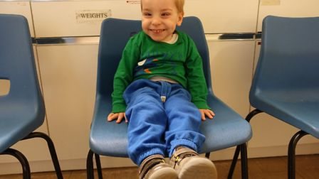 Ruban's parents hope to send him to the United States for an �80,000 treatment
