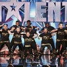 IMD Legion perfoming during the audition round of Britain's Got Talent. Picture: Shane Chapman/ITV