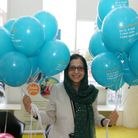 Fatima Farook from the Family Information Service also attended the volunteering event.